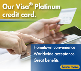Learn more about our Visa Platinum credit card